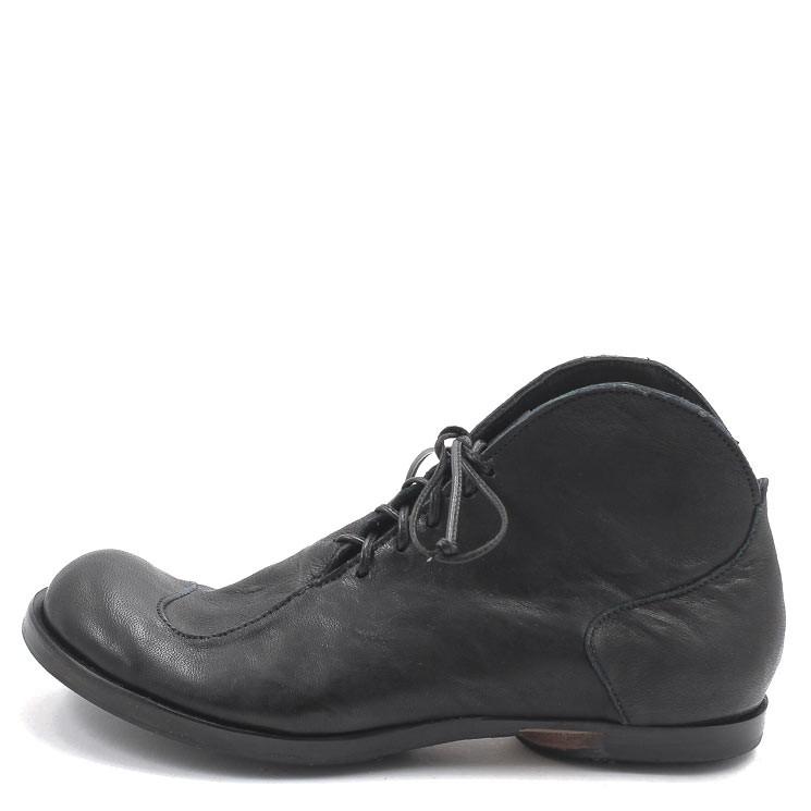 CYDWOQ Clip Damen Schnürschuh schwarz