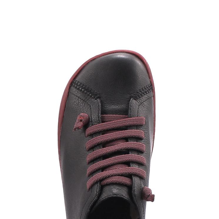 Camper 20848 Peu Cami Damen Sneaker schwarz-rot