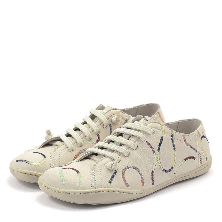 Camper K200842 Twins TWSDamen Sneaker weiß