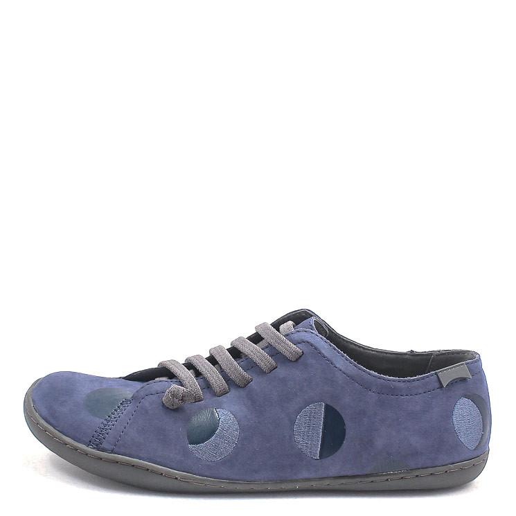 Camper K201136 Twins Damen Sneaker blau