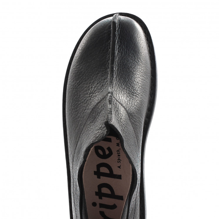 Trippen Rhino f Closed Damen Slipper schwarz