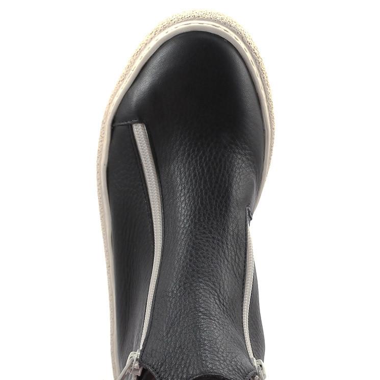 Arche Edenzy Damen Stiefelette schwarz-weiß