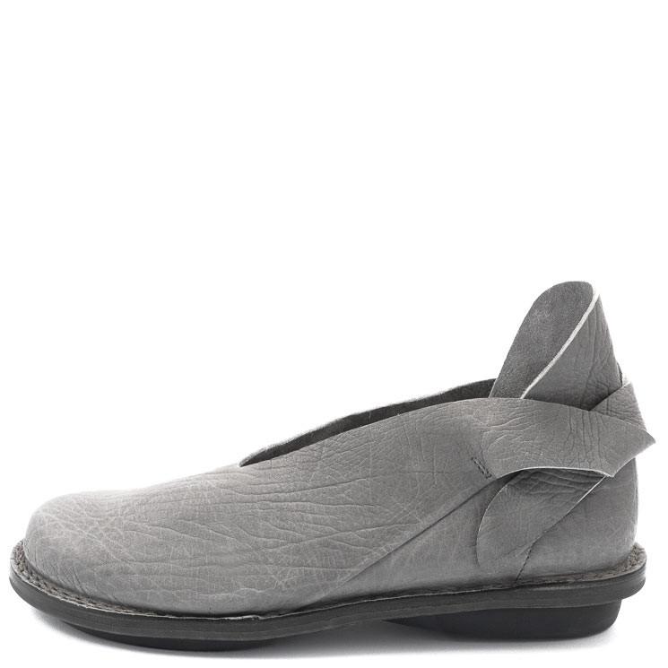Trippen Damen-Slipper Elegance grau