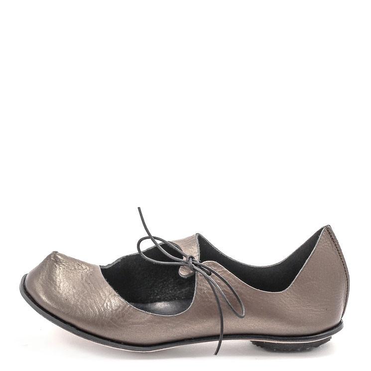 CYDWOQ Dust Damen Ballerina metall