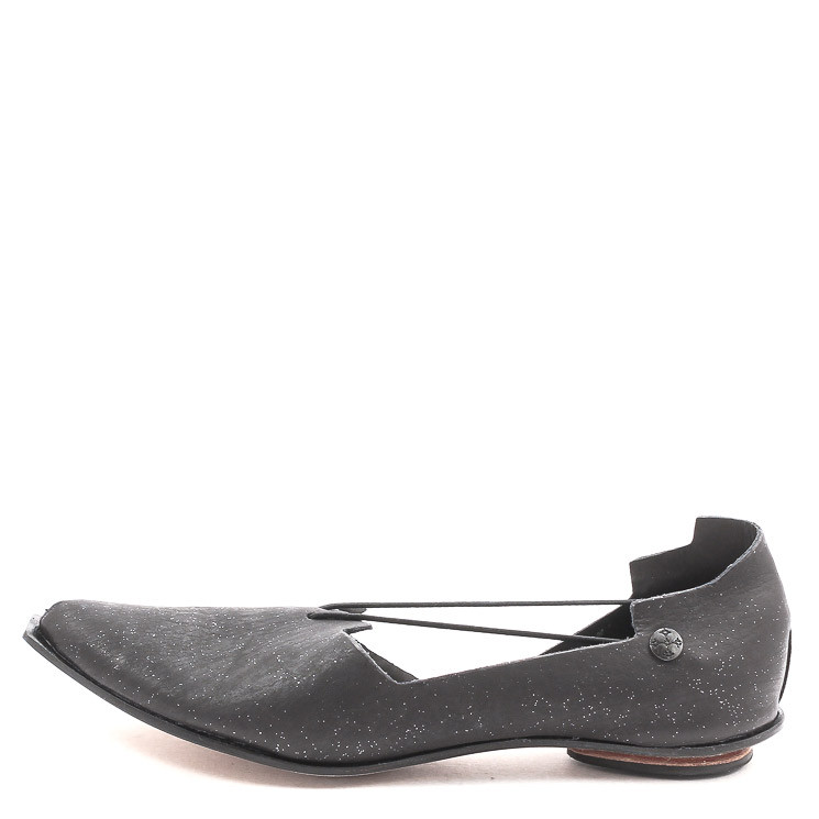 CYDWOQ Room Damen Slipper schwarz