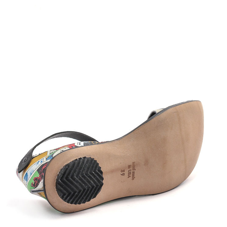 CYDWOQ Danger Damen Ballerina multicolor