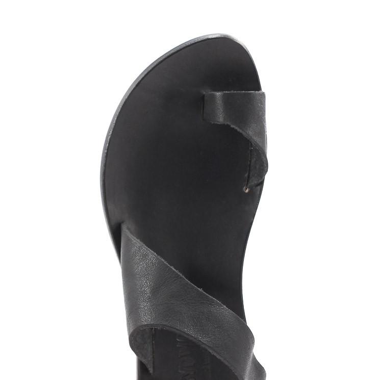 CYDWOQ Thong Damen Pantoletten schwarz