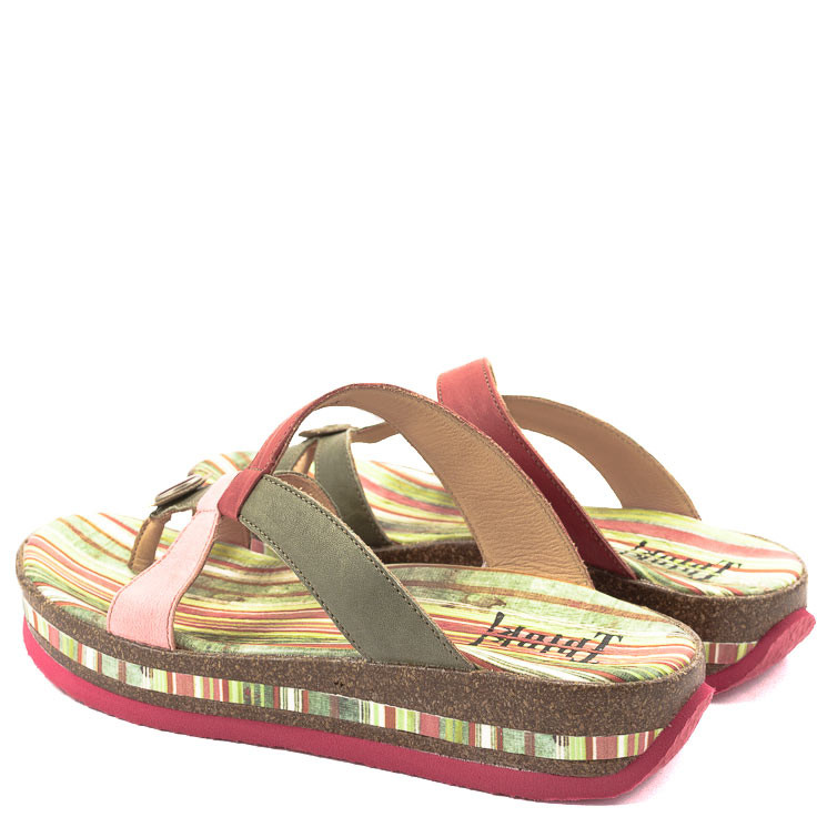 Think Damen-Pantolette 82383 multicolor