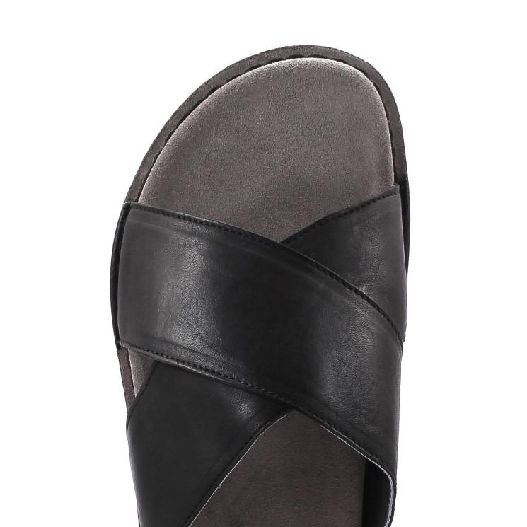 UiTormeda 1372-D Damen Pantolette schwarz