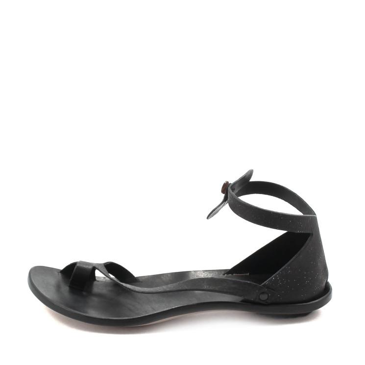CYDWOQ Tomcat Damen Sandale schwarz-gold