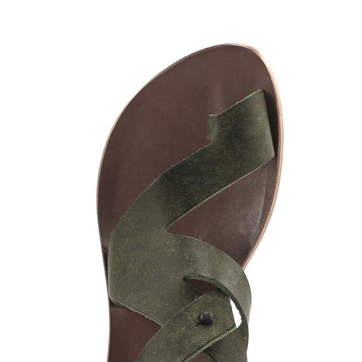 CYDWOQ Attract Sandale Damen oliv