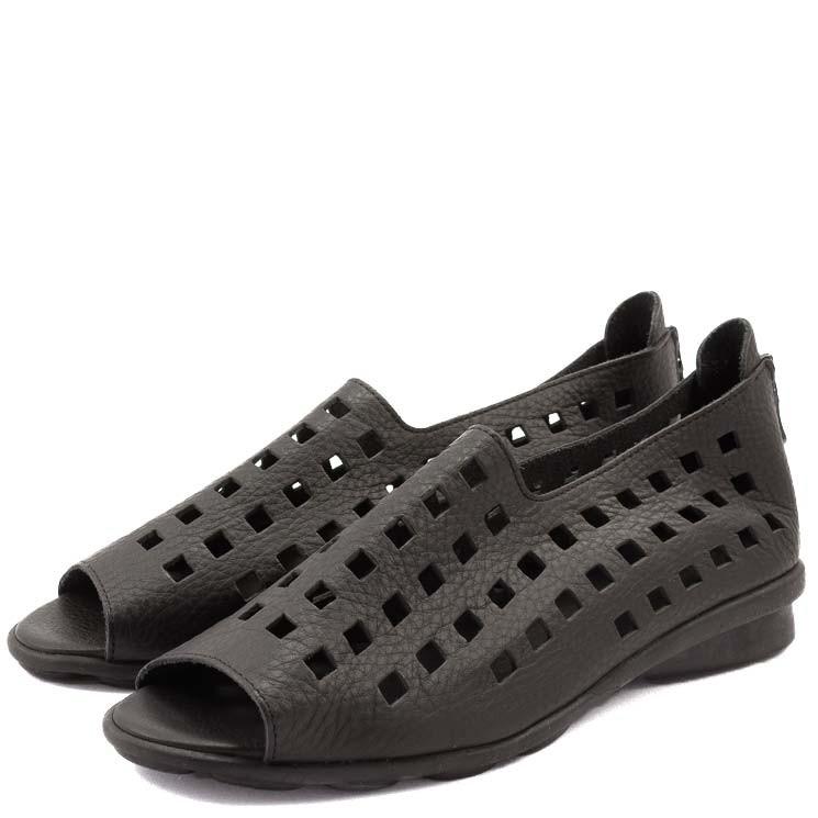 Arche Drick Damen Sandale schwarz