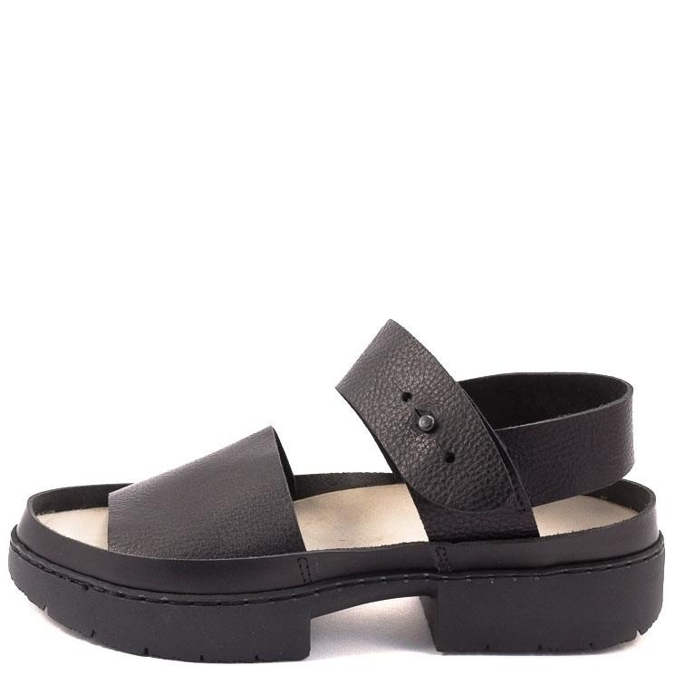 Trippen Traffic f Sport Damen Sandale schwarz
