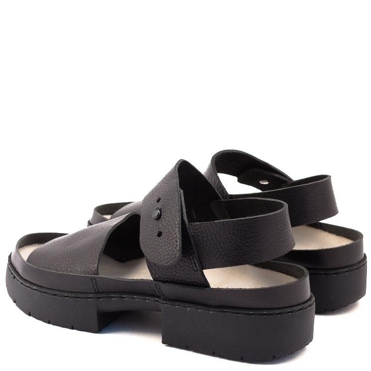 Trippen Traffic Sport Damen Sandale schwarz