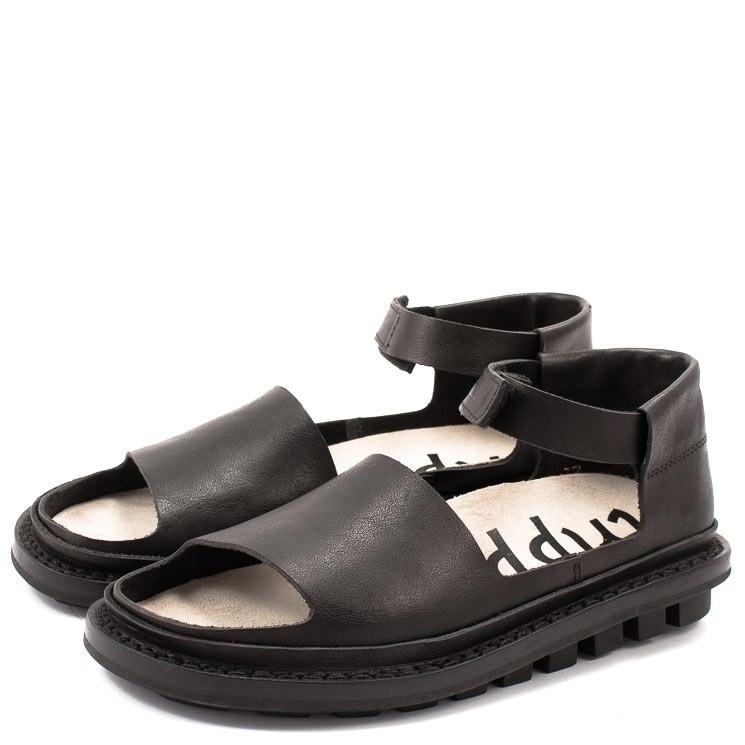 Trippen Brink f Closed Damen Sandale schwarz