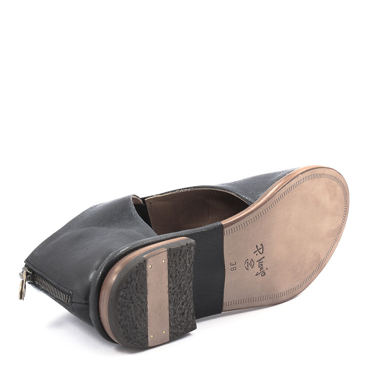 P. Monjo, P1278 Berta Damen Stiefelette, schwarz