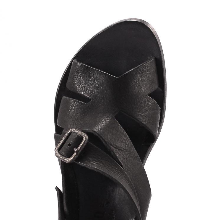 CYDWOQ Cavalry Sandale Damen schwarz