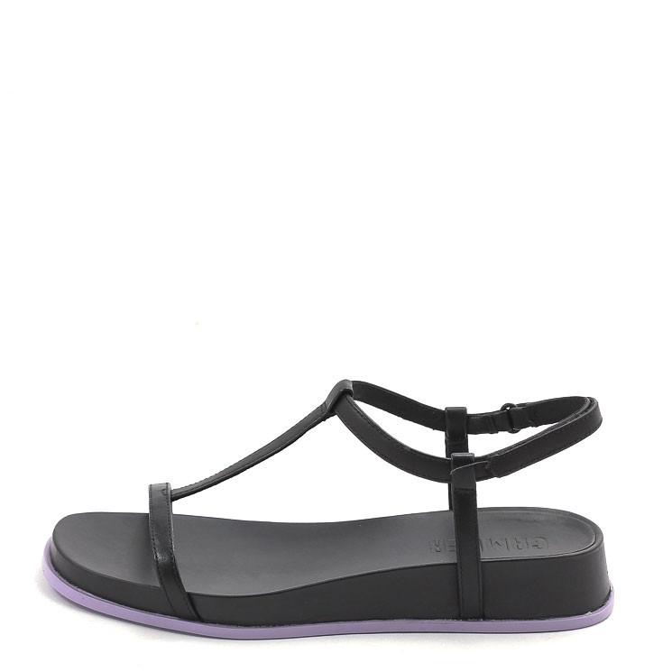 Camper K201011 Atonika Damen Sandale schwarz