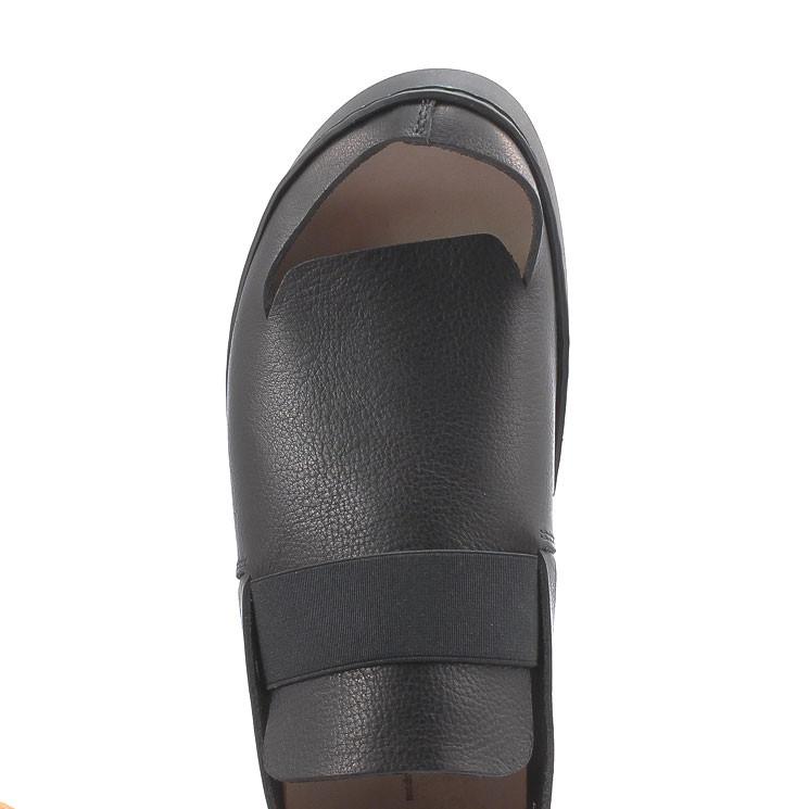 Trippen Resist f Swan Damen Sandale schwarz