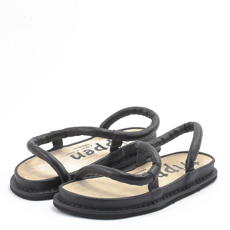 Trippen Zigzag f Damen Sandale schwarz