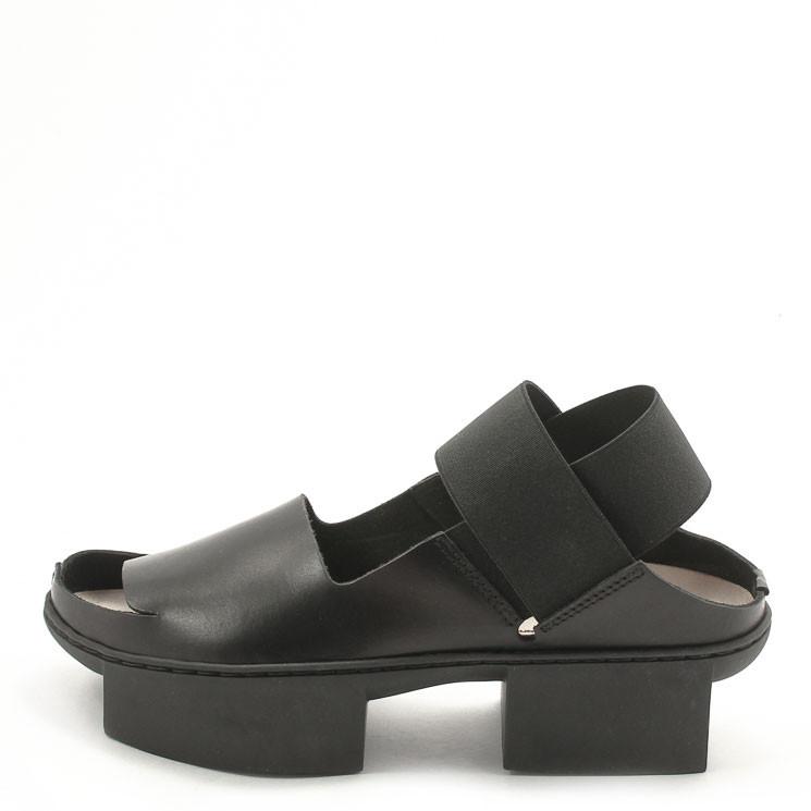 Trippen Revise f Box Damen Sandale schwarz