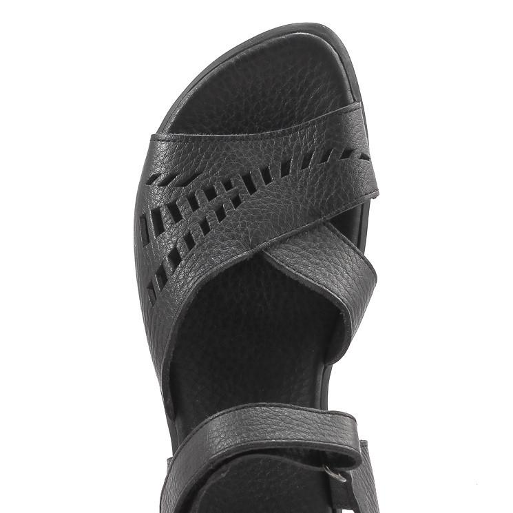 Arche Saryem Damen Sandale schwarz