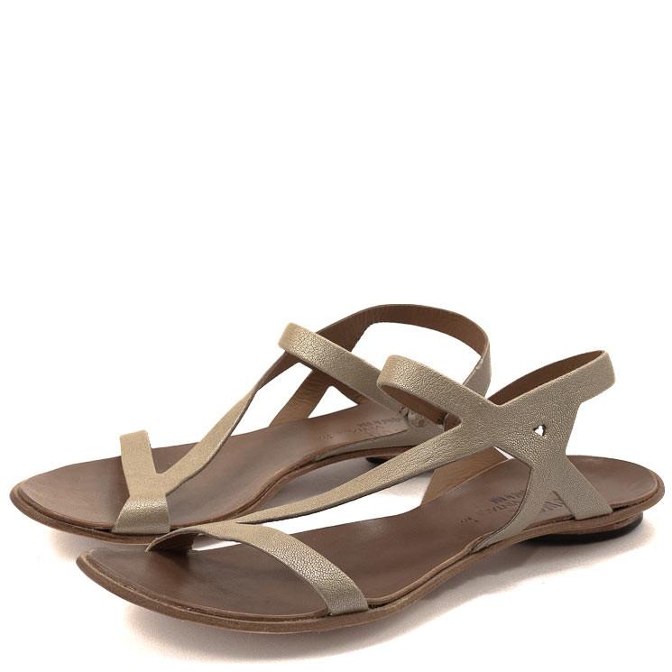 CYDWOQ Damen-Sandale Tigon beige