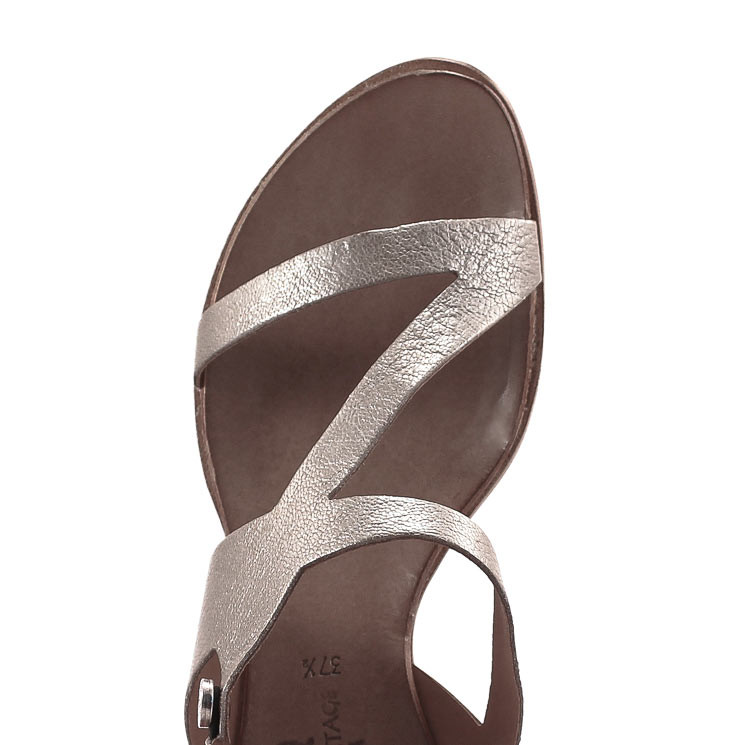 CYDWOQ Veranda-S Sandale Damen beige