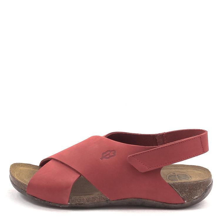 Loints of Holland 31152 Florida Veenhof Damen Sandale rot