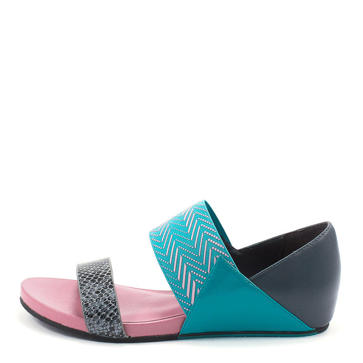 United Nude Delta Lisa Damen Sandale multicolor