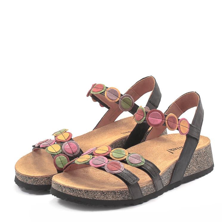 Think 000322 Koak Damen Sandale multicolor