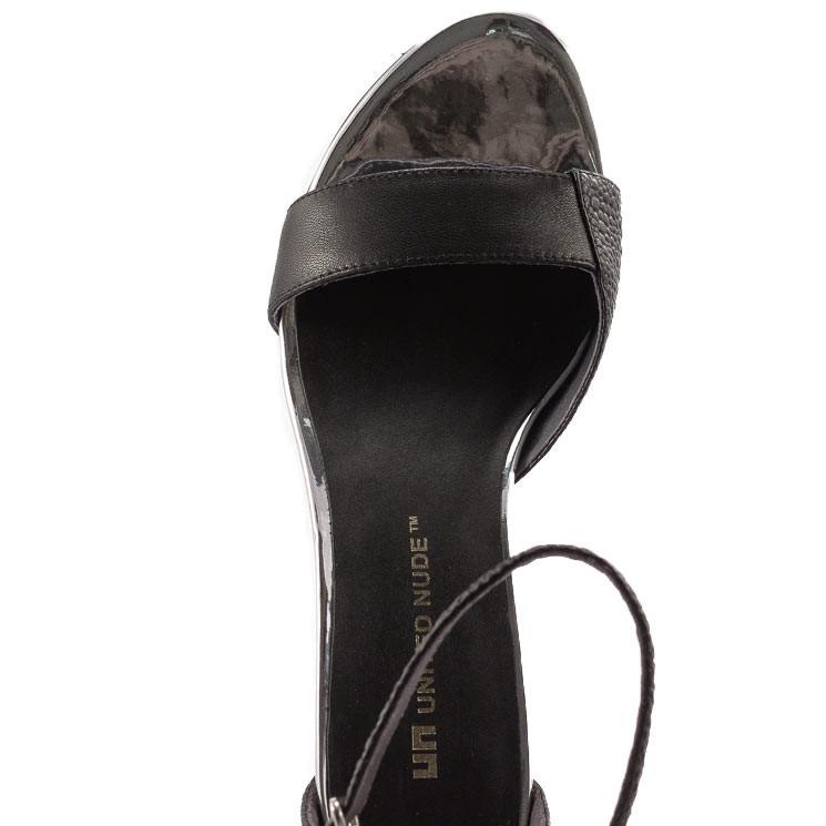 United Nude Damen-Sandale Bella schwarz