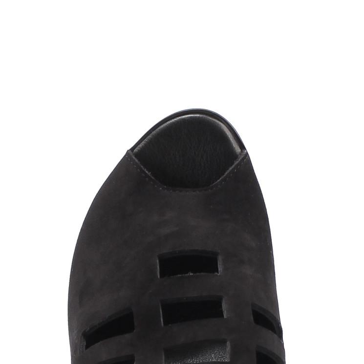 Arche Egwana Damen Sandale schwarz