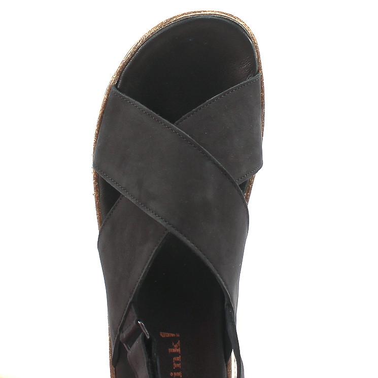 Think 86388 Zega Damen Sandale schwarz