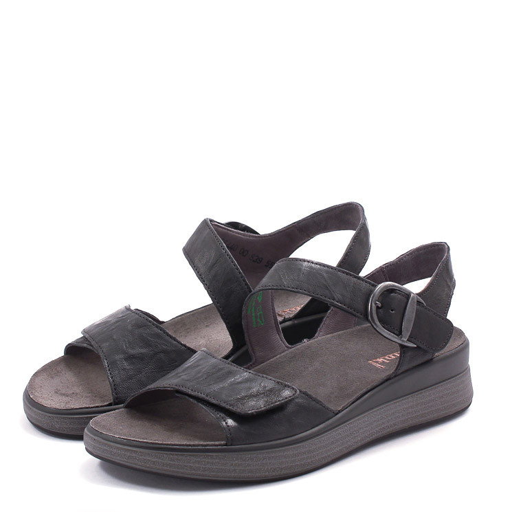 Think 86440 Meggie Damen Sandale schwarz