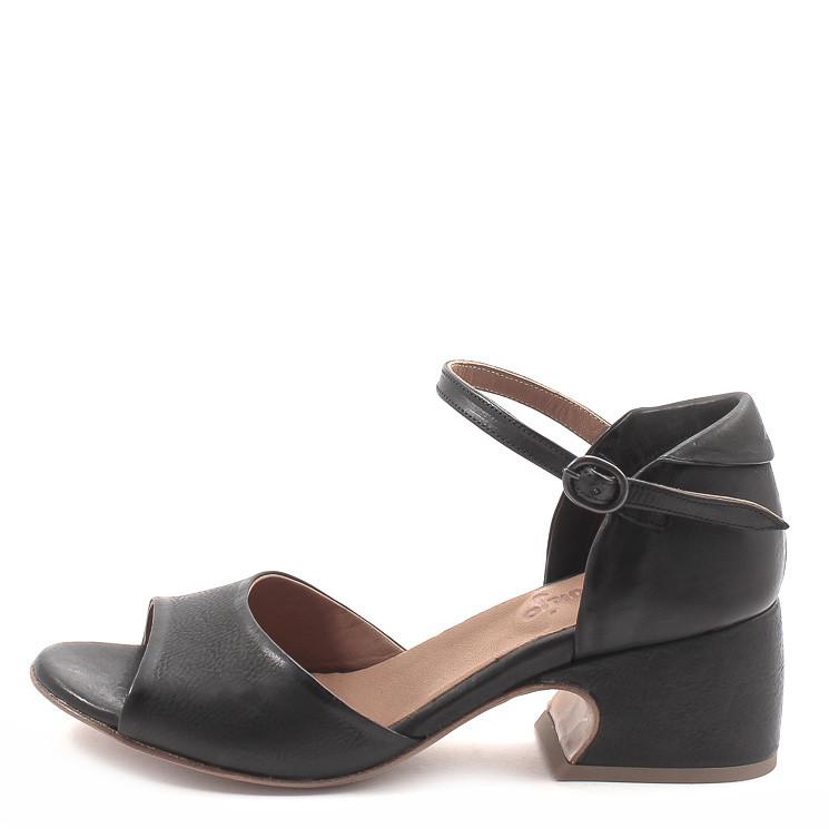 P. Monjo P-1331 Sixty Damen Absatz-Sandalen schwarz