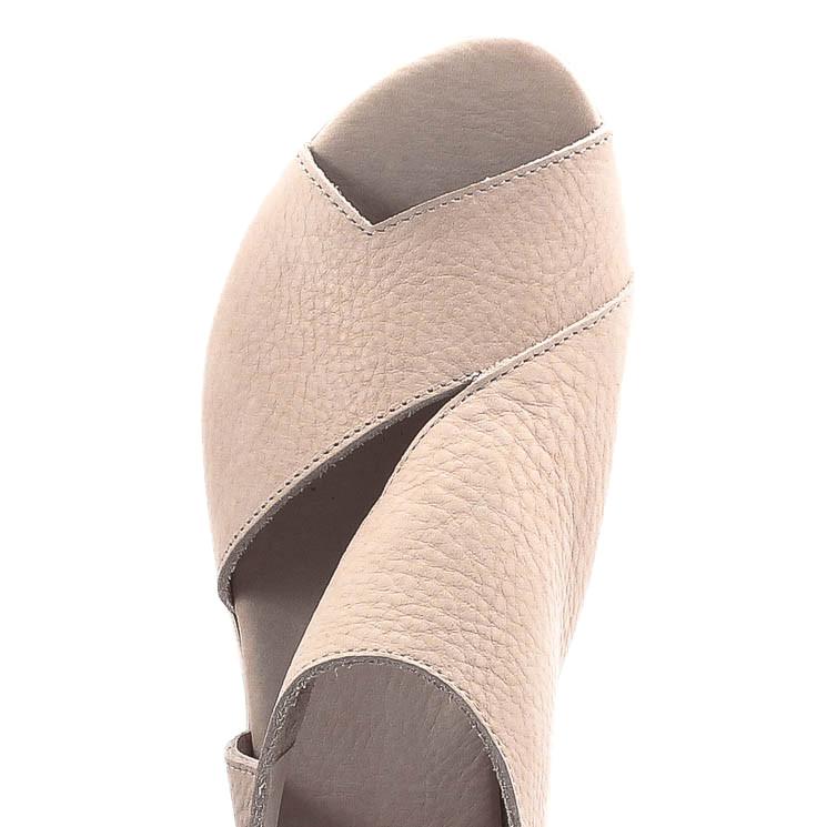 Arche Obibbi Damen Sandalette creme
