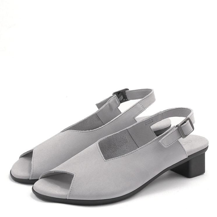 Arche Obicko Damen Sandale hellgrau