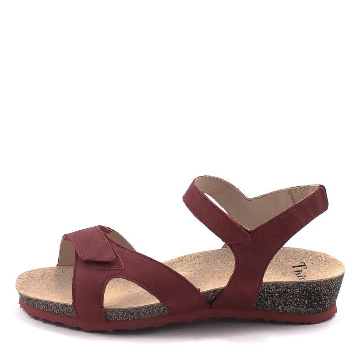 Think 84374 Dumia Damen Sandale rot