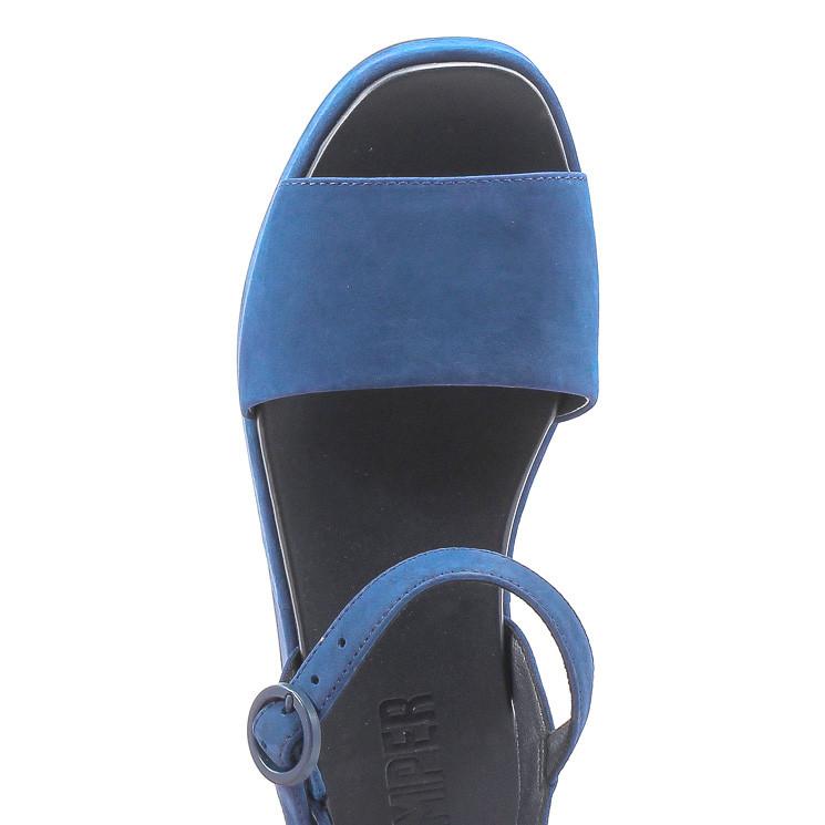 Camper K200564 Misia Damen Plateau-Sandale blau