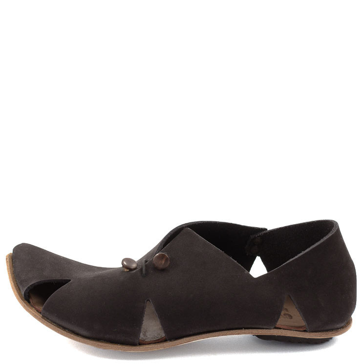 CYDWOQ Damen-Sandale Pavillion schwarz