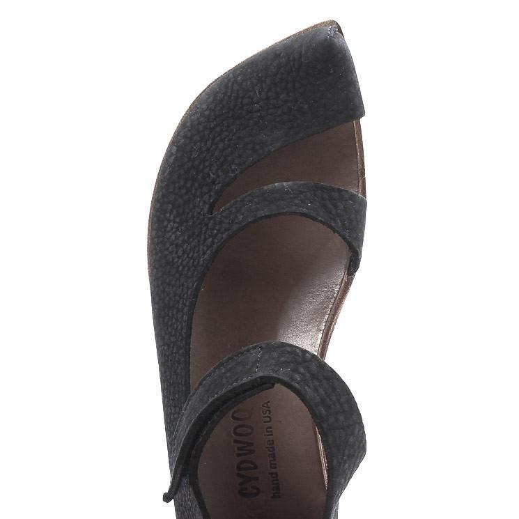 CYDWOQ Safe Damen Sandale schwarz