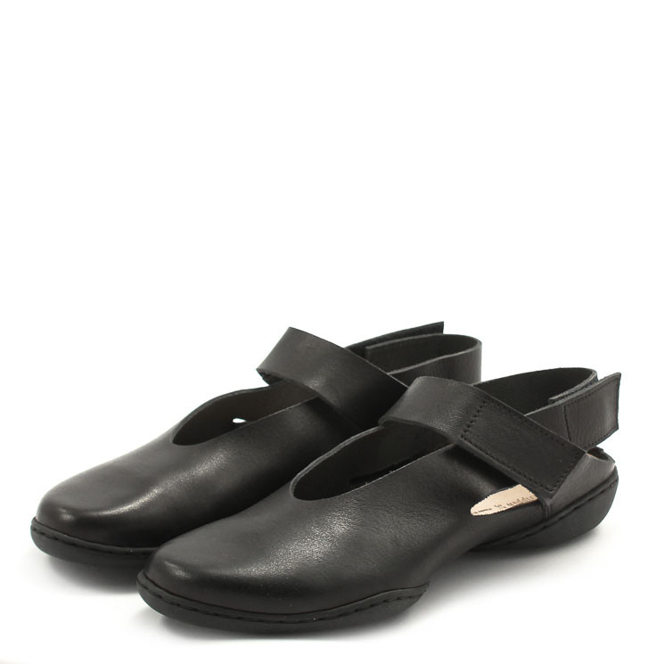 Trippen Junction f Cup Damen Sandale schwarz