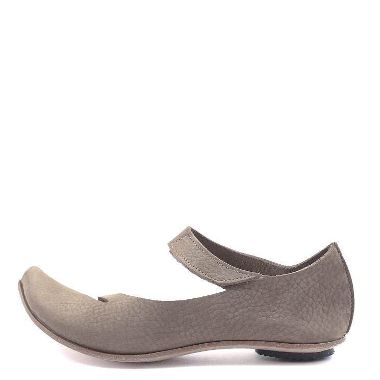 CYDWOQ Safe Damen Sandale hellbraun