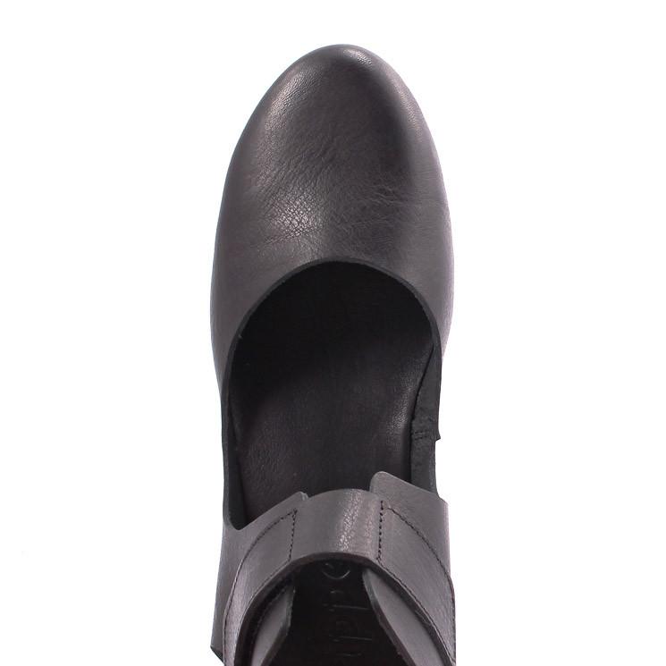 Trippen Evoke Happy Damen Sandale schwarz