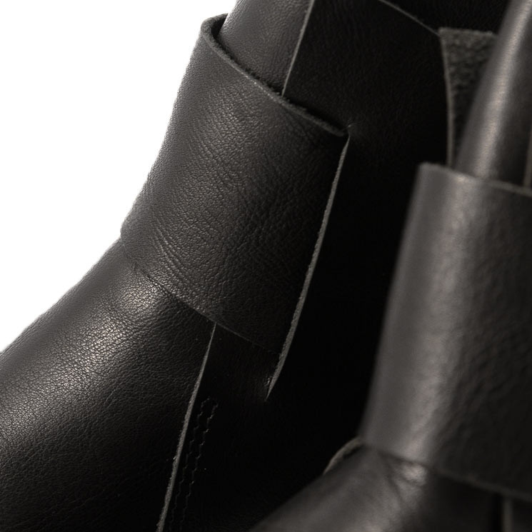 Trippen Base f Closed Damen Stiefelette schwarz