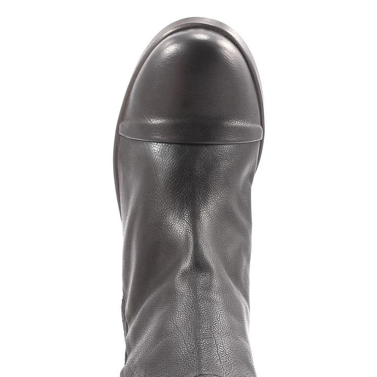 P. Monjo P-1341 Baker Damen Stiefelette schwarz