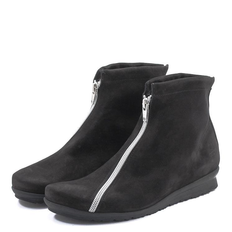 Arche Barwol Damen Stiefelette schwarz-grau