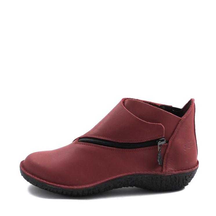 Loints of Holland 37534 Fusion Damen Stiefelette rot-schwarz