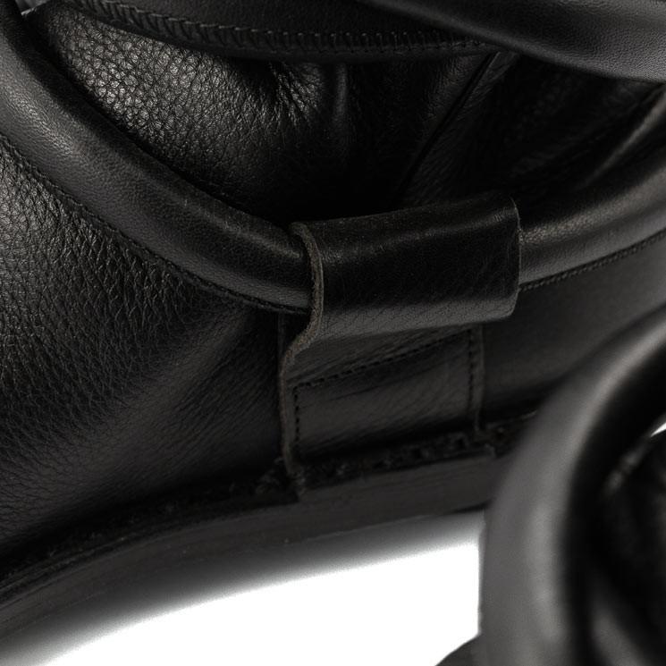 Trippen Cable Closed Damen-Stiefelette schwarz